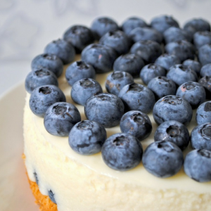 Green Sugar Bosbessen cheesecake