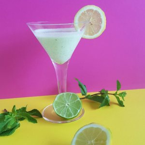 Green Sugar coconut lime virgin mojito