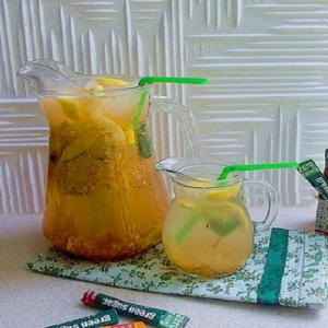 Green Sugar gember & nectarine limonade