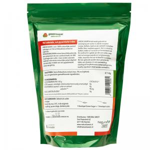 Green Sugar krstal 1 kg achterkant