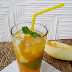 Green Sugar meloen & sinaasappel limonade