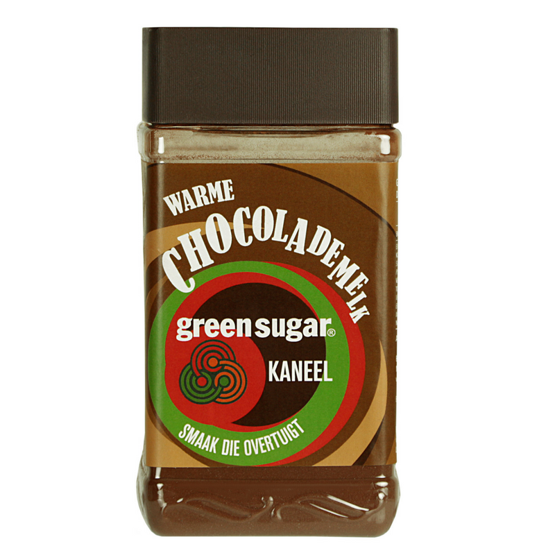Green Sugar warme chocolademelk kaneel