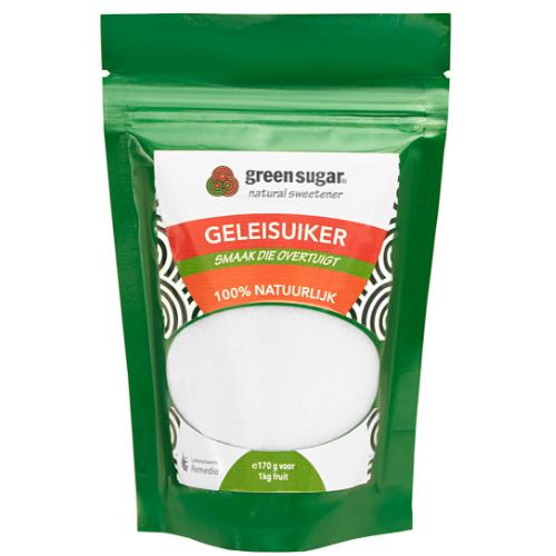 Jam maken zonder suiker met Green Sugar geleisuiker