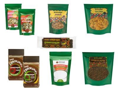 Green Sugar gezonde producten