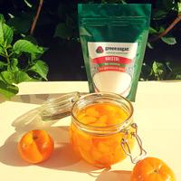 mandarijnen op siroop