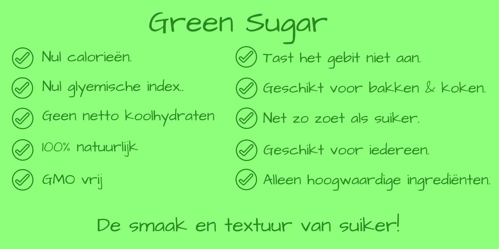 stevia suiker Green Sugar