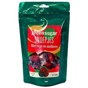 Aardbei snoepjes | Suikervrij met Green Sugar