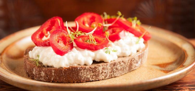 gezond ontbijt toast