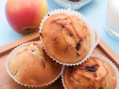 ppel muffins met Green Sugar